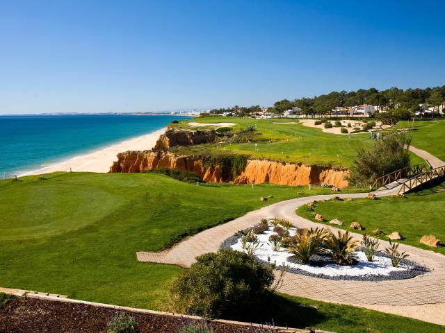 Portugal Algarve Karta.Algarve Golf