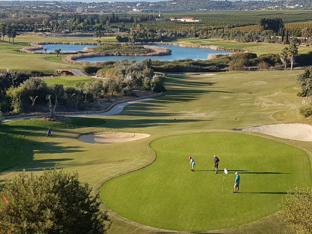 One of our favorite courses at the Algarve